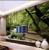 woods wall mural