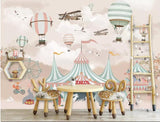 cartoon circus wall paper