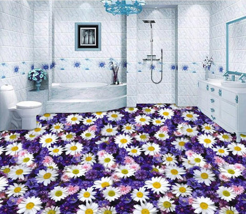 daisies wallpaper for floor