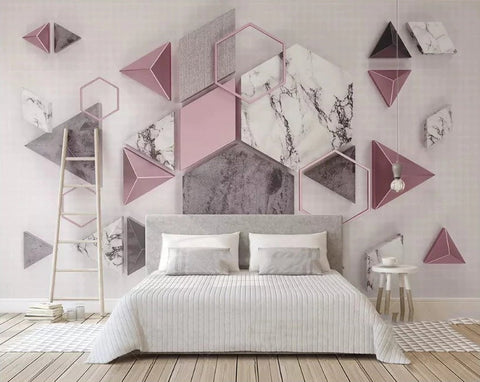 geometric shapes wallpaper
