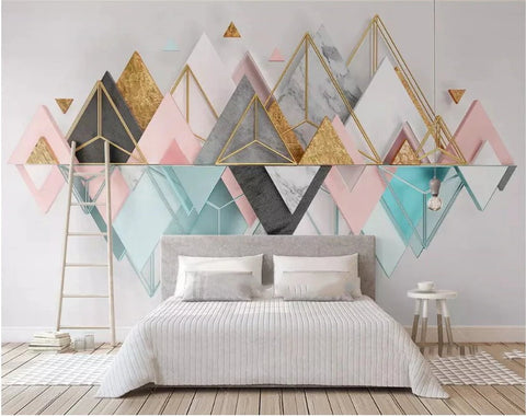 geometric shape wallpaper