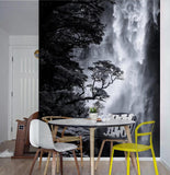 nature waterfall mural