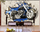 motorcycle wallpaper mural walls