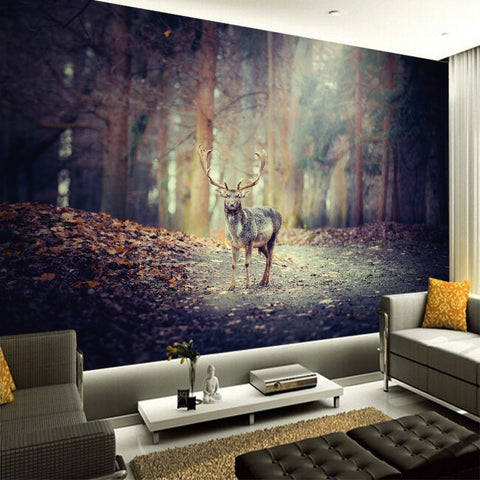 forest elk deer wallpaper