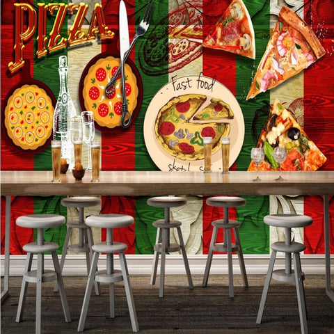 pizza theme wallpaper