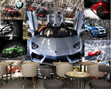 sports car wallpaper mural