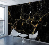 black gold marble wallpaper