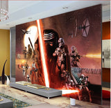 force awakens wall mural