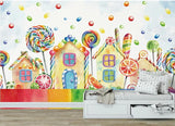 candy house wallpaper
