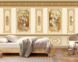 wainscot wallpaper