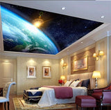 wallpaper for ceiling planet earth