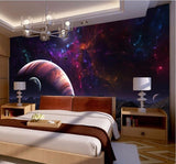 planet wallpaper ceiling