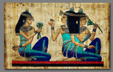 egyptian drawings mural