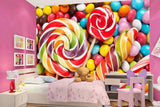 candies wall mural
