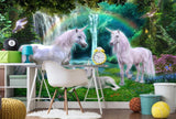 fantasy unicorn wallpaper