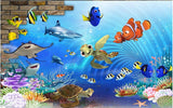 cartoon undersea wallpaper