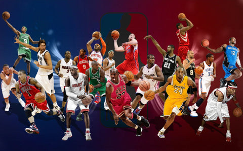 nba stars action wallpaper