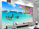 thailand beach wall mural