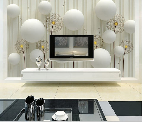 white stereo modern european wallpaper