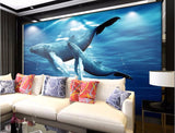 humpback whale wall paper