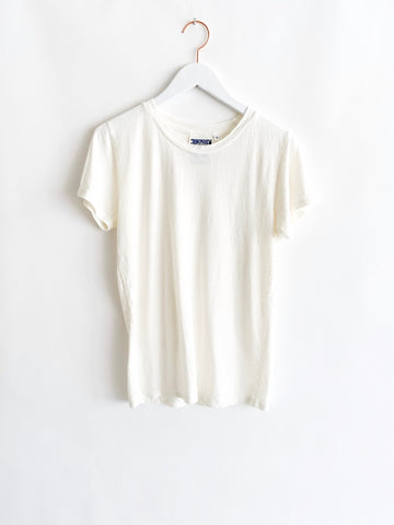 Jungmaven - Lorel Tee - Washed White