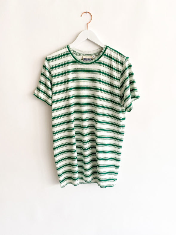 Jungmaven - Mountain Stripe Jung Tee - Green