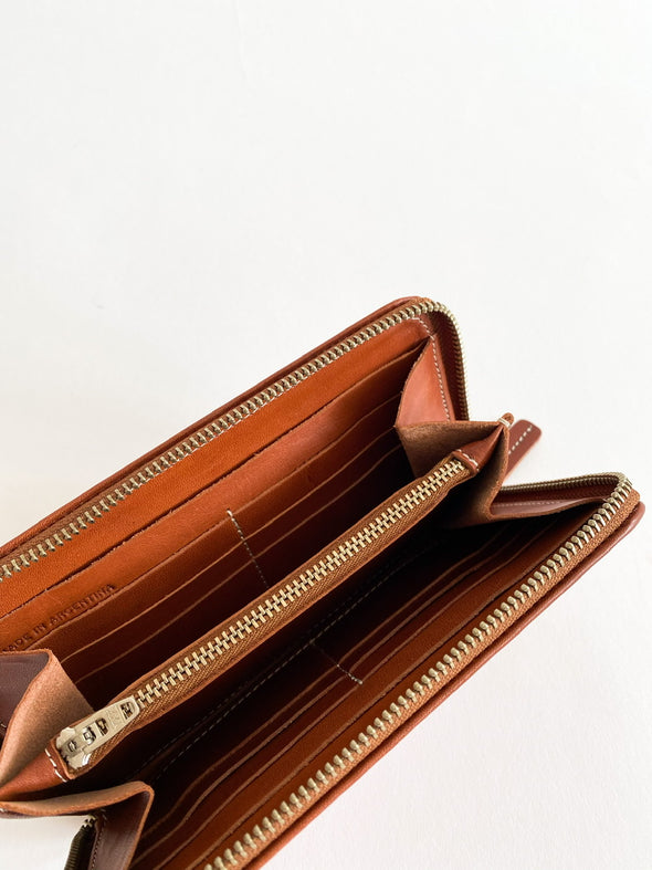 Le Bas - Zip Wallet - Chestnut
