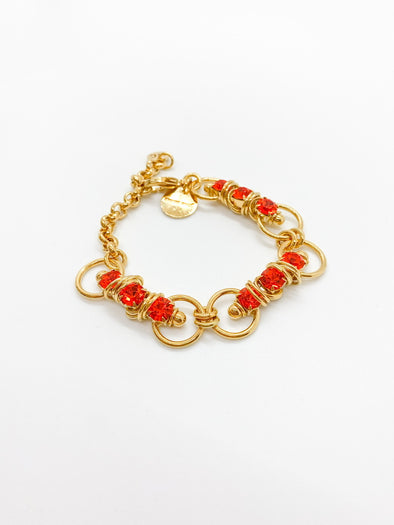 Moutton Collet - Mixy Bracelet - Orange