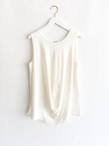 Vincetta - Draped Tunic - Bone