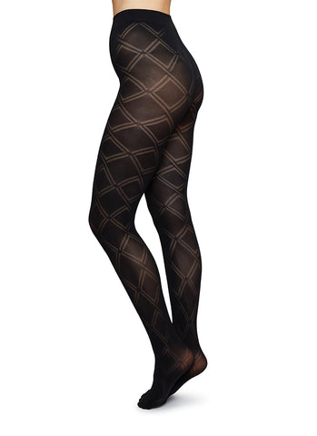 Swedish Stockings - Kajsa - Black