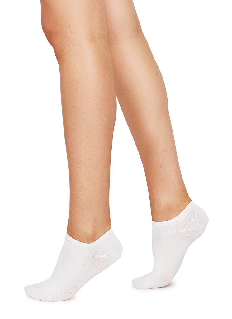 Swedish Stockings - Sara Sneaker Sock - White