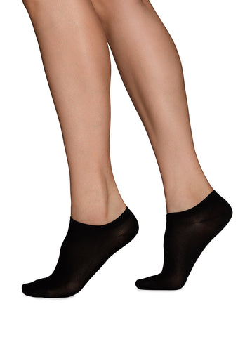 Swedish Stockings - Sara Sneaker Sock - Black