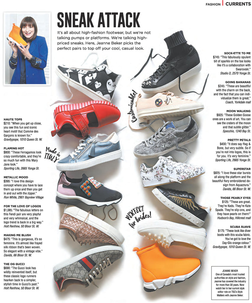 Post Toronto Magazine | Sneaker Feature | gravitypope