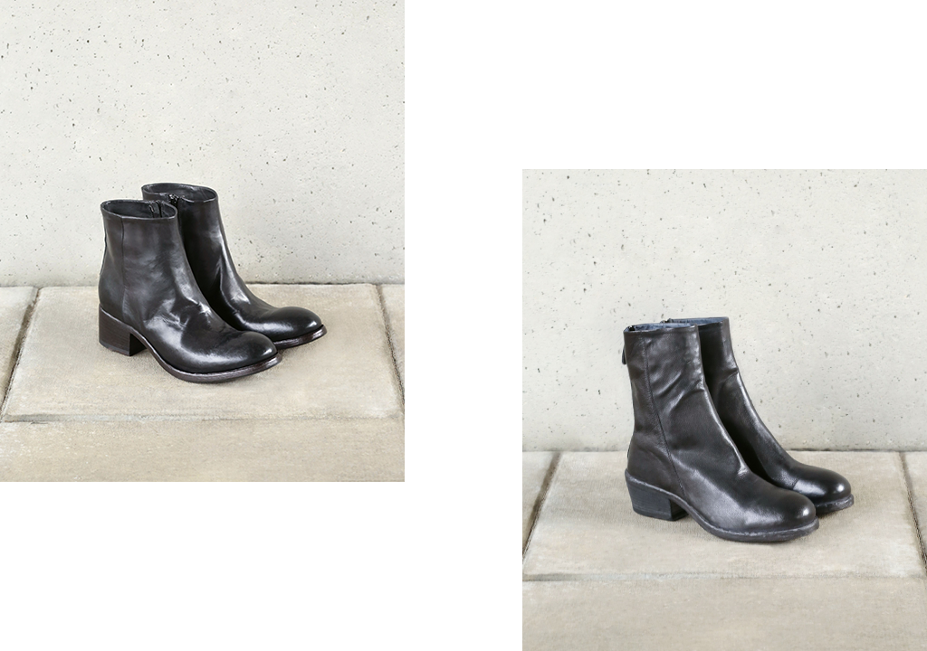 Made in Italy Leather Ankle Boot