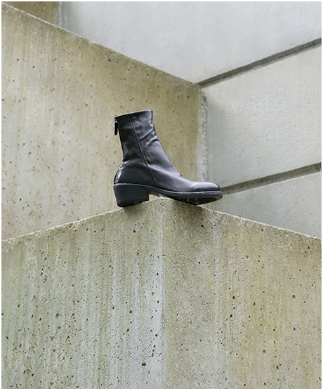 Gidigio AP060315 laceup leather boot made in italy