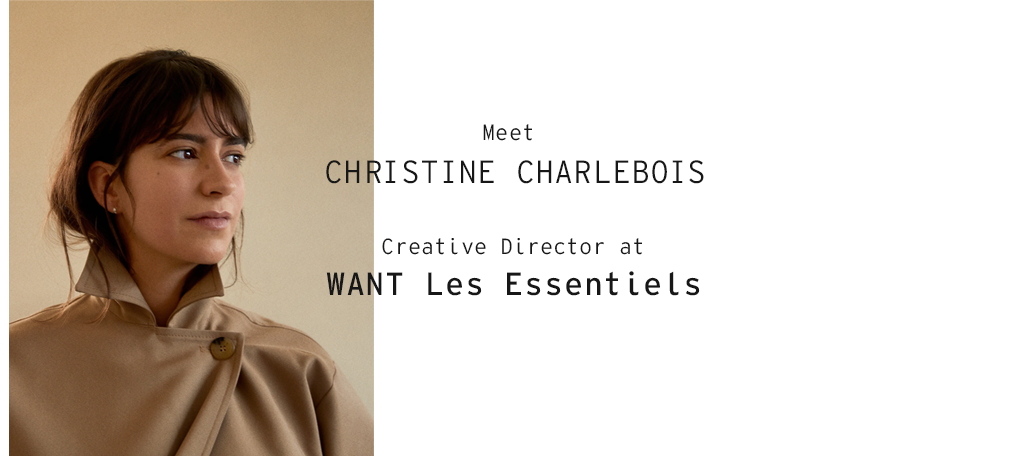 """WANT Meet Christine Charlebois"