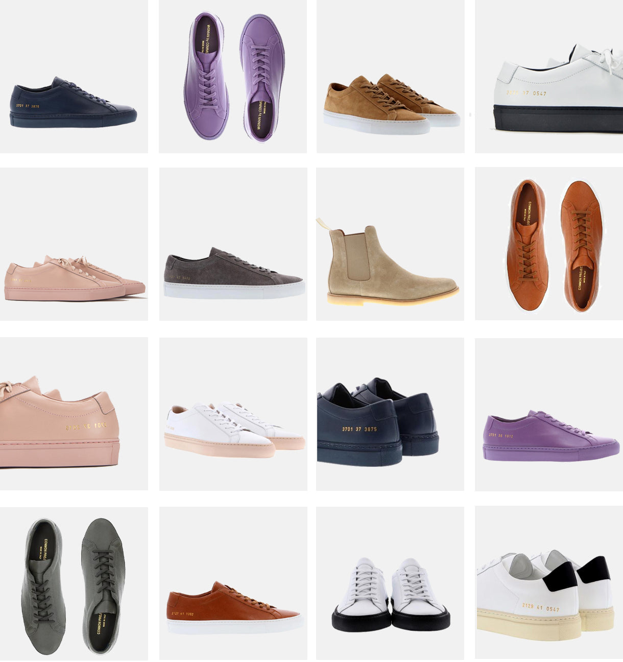 Common projects grid