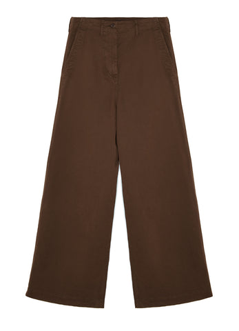 STRETCH COTTON GABARDINE TROUSERS