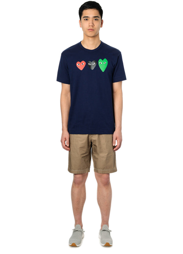 gravitypope - comme des garcons PLAY - T186-NVY - Mens Clothing