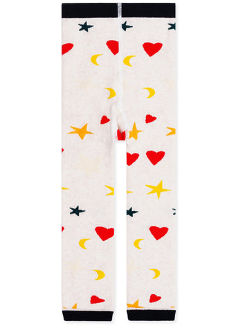 gravitypope - hansel from basel - MINI STAR & HEART LEGGING - Childrens Accessories