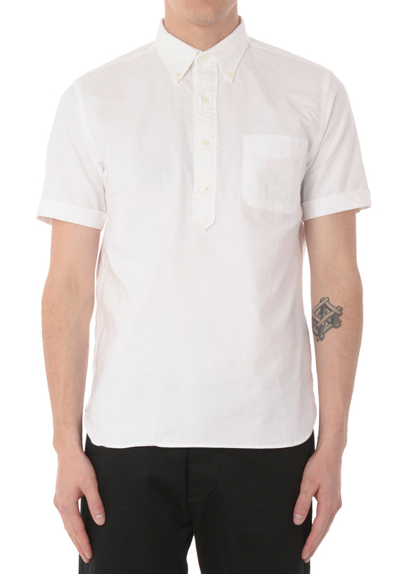 S/S POPOVER OXFORD SHIRT