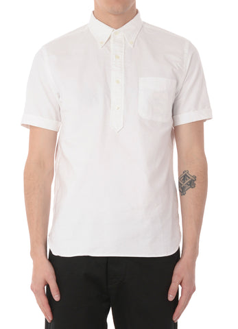 SHORT SLEEVE POPOVER SHIRT