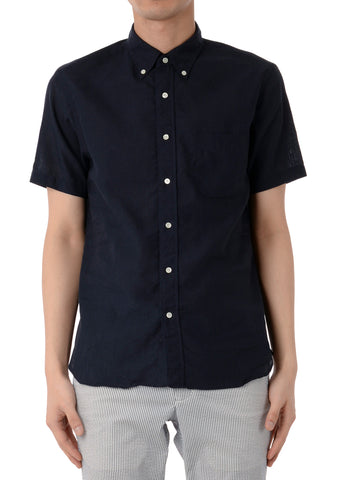 S/S LINEN BUTTON DOWN SHIRT
