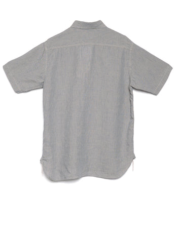 SHORT SLEEVE LINEN WORK SHIRT