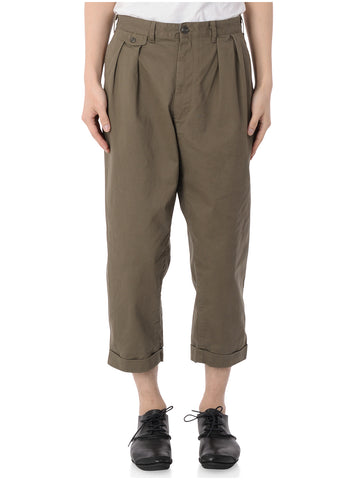 2 PLEAT CHINO