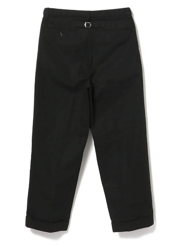 WIDE TROUSERS TWILL