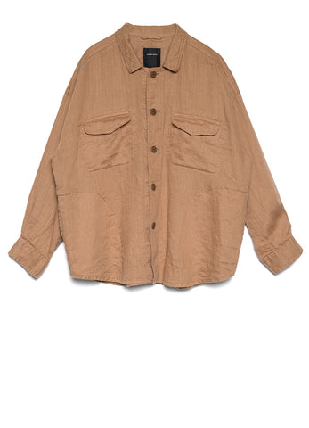BOX FIT LINEN JACKET