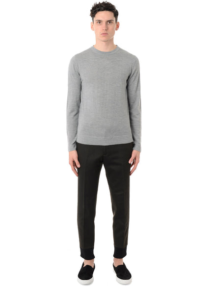FINE MERINO R-NECK SWEATER