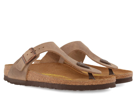 gravitypope - birkenstock - GIZEH NARROW (LEATHER) - Womens Footwear