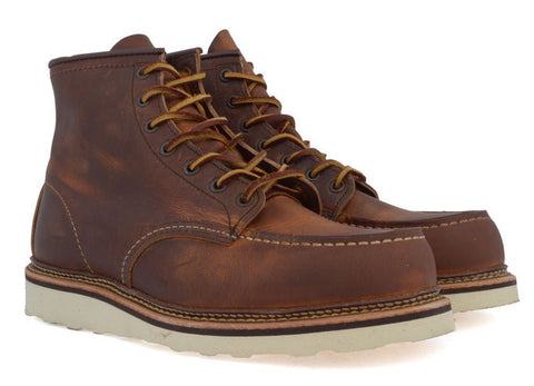 "gravitypope - red wing - CLASSIC 6"" MOC - Mens Footwear"